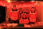 Bereitschaft Lohr mit den Mitgliedern des HvO Steinfeld auf dem Steinfelder Weihnachtsmarkt vertreten